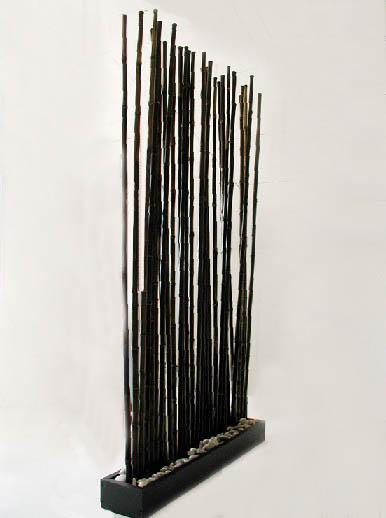 Paravento bamboo fioriera con grigliato plastica for Bambu vendita on line