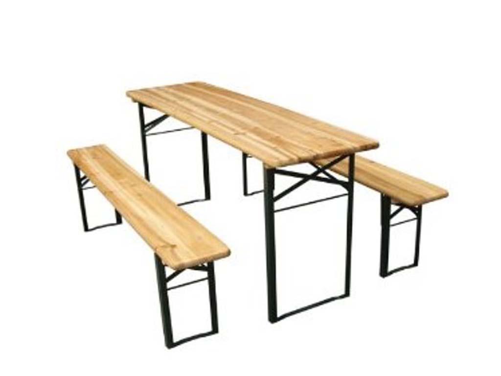 Noleggio tavolo e panca birreria oltreilgiardino - Tavoli da birreria 220x80 ...