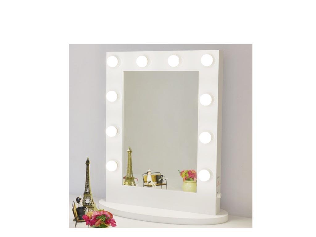 Specchi Professionali Per Trucco.Tavolo Trucco Con Specchio Songmics Specchiera Tavolo Cosmetici